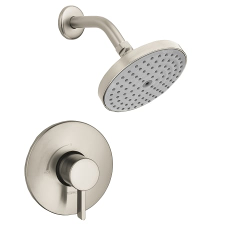 A Large Image Of The Hansgrohe HG PB001 Brushed Nickel ...