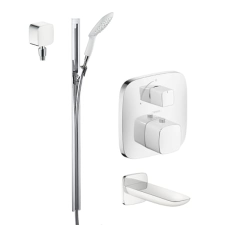 Merveilleux A Large Image Of The Hansgrohe HG T104 Chrome