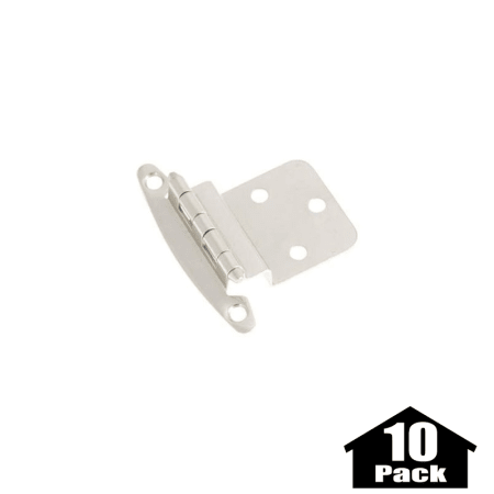 Hickory Hardware P140 Sn 10pack Satin Nickel Surface