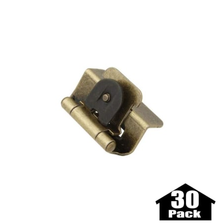 Hickory Hardware P5310 Ab 30pack Antique Brass 1 2 Inch