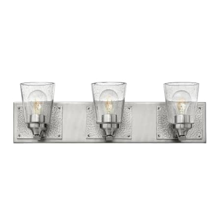 Hinkley lighting 51823bn brushed nickel jackson 3 light 24 for Hinkley bathroom vanity lighting