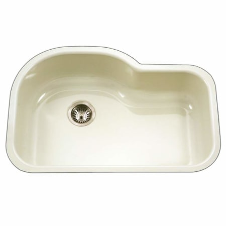 Houzer pch 3700 bq biscuit porcela 31 1 4 single basin undermount porcelain enameled kitchen - Bq kitchen sinks ...
