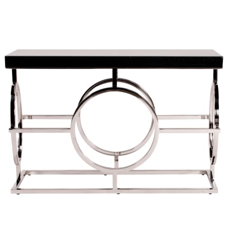 Howard Elliott Stainless Steel Console Table