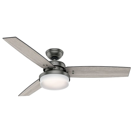 Hunter 59211 brushed slate sentinel 52 3 blade led indoor ceiling hunter 59211 brushed slate sentinel 52 3 blade led indoor ceiling fan with light kit and remote control included aloadofball Image collections