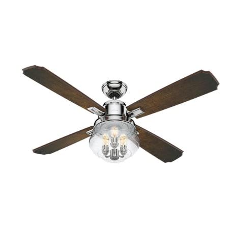 Hunter 59271 Polished Nickel 54 Ceiling Fan