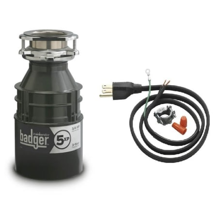 Insinkerator Badger5xpwc Power Cord Included Badger 3 4 Hp