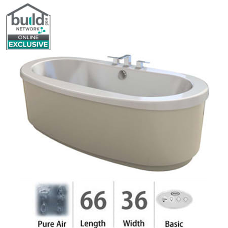 Jacuzzi Brf6636acx2xxw White Bravo 66 Quot Pure Air