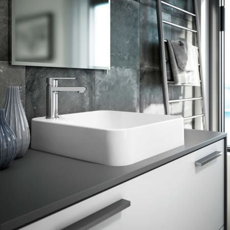 Jacuzzi Nev1616g Gloss White Nerina 15 3 4 Quot Solid Surface