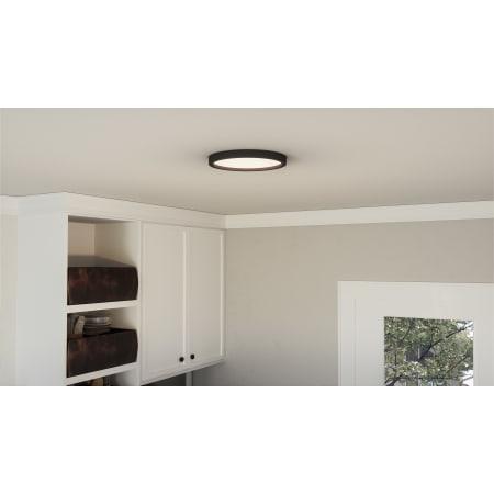 James Allan Mvcf6415frc Fresco Randolph 11 Wide Led Flush Mount Ceiling Fixture Lightingshowplace Com