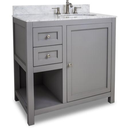 Jeffrey Alexander VAN103-36-T Grey Astoria Modern ...