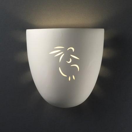 Justice Design Group Cer 9030 Bis Koko Led1 1000 Bisque Sun Dagger