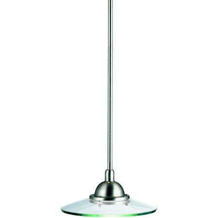 Kichler 2641ni Brushed Nickel Galaxie Single Bulb Indoor