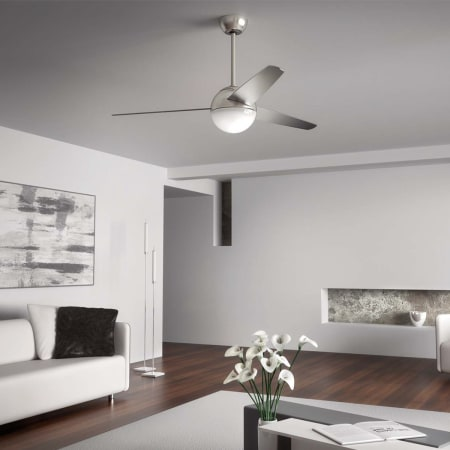 Kichler 300710mwh Matte White Bisc 56 Quot Ceiling Fan With