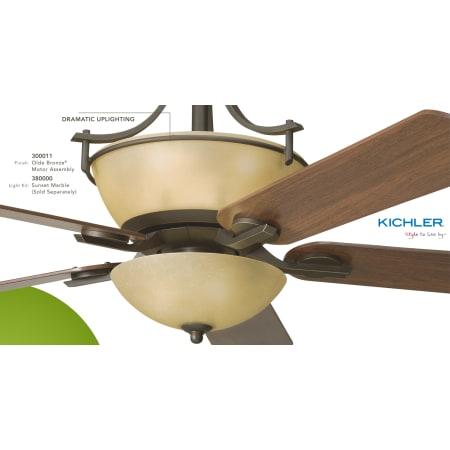 Kichler 300011oz Olde Bronze 60 Quot Indoor Ceiling Fan With