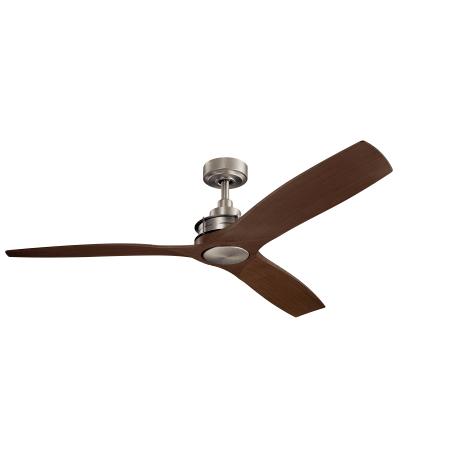 Kichler 300356ni Ried 56 3 Blade Indoor Outdoor Ceiling Fan