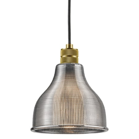 Kichler 43551nbr Natural Brass Devin 1 Light Pendant