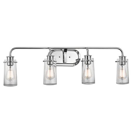 Kichler 45460oz braelyn 4 light 34 wide vanity light bathroom kichler 45460 aloadofball Gallery