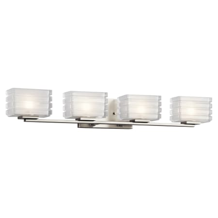 Kichler 45480ni Brushed Nickel Bazely 33 Quot Wide 4 Light