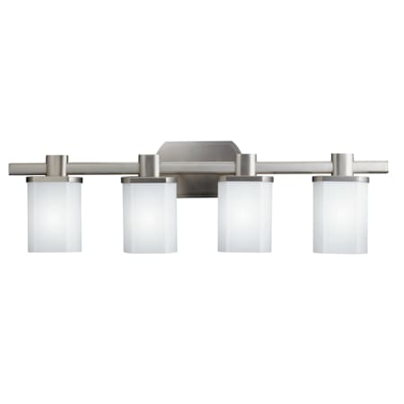 Kichler 5054ni lege 305 wide 4 bulb bathroom lighting fixture kichler 5054 aloadofball Choice Image