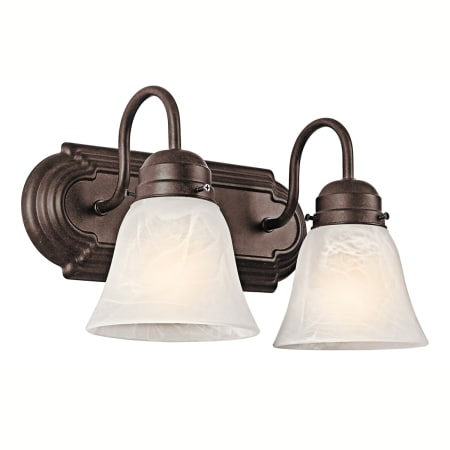 kichler bathroom light fixtures kichler 5336tz tannery bronze 2 light 12 quot wide vanity 18958