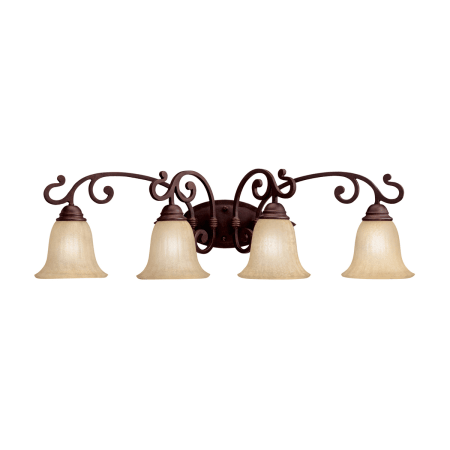 kichler bathroom light fixtures kichler 5990cz carre bronze wilton 34 quot wide 4 bulb 18958