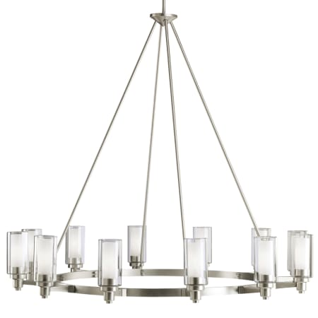 Kichler 2347ni brushed nickel circolo 12 light 45 wide chandelier kichler 2347 mozeypictures Image collections