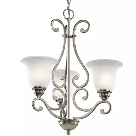 Kichler 43223ni Brushed Nickel Camerena Single Tier