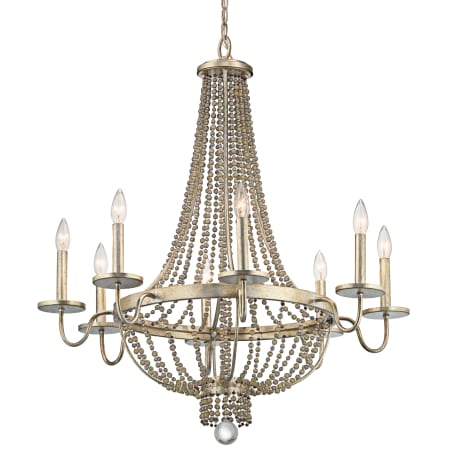 Kichler 43812sgd Sterling Gold Birkdale 30 5 Quot 8 Light Chandelier Lightingdirect Com