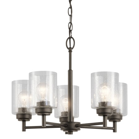 Kichler 44030oz Olde Bronze Winslow 5 Light 19 3 4 Quot Wide