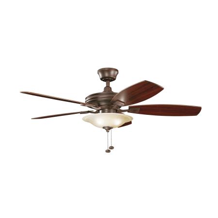 Kichler 300179ni Brushed Nickel 52 Quot Indoor Ceiling Fan
