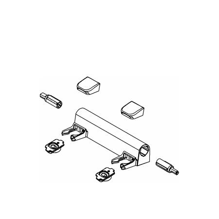 Kohler 1150464 0 White Eb Hinge Kit For Elongated Toilet