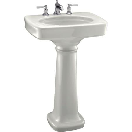 Kohler K 2338 8 0 White Bancroft 24 Quot Pedestal Lavatory