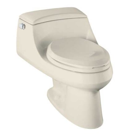 A Large Image Of The Kohler K 3466 Almond