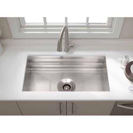 Kohler K 5540 Na Stainless Steel Prolific 33 Single Basin
