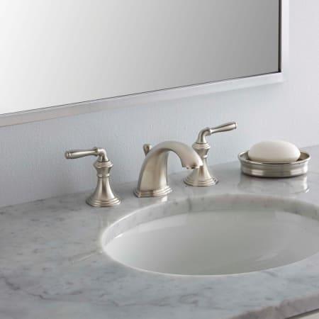 Kohler K 394 4 Cp Polished Chrome Devonshire Widespread Bathroom Faucet With Ultraglide Valve