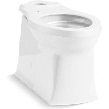 Kohler K 4144 0 White Corbelle Elongated Comfort Height