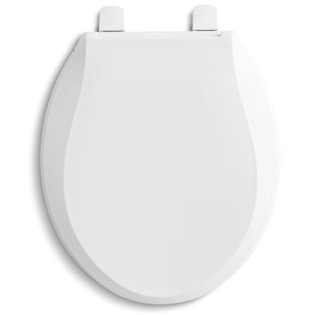 Kohler K 4639 0 White Cachet Q3 Round Closed Front Toilet