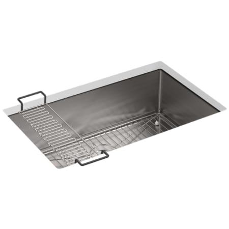 Kohler k 5409 na stainless steel strive 29 single basin undermount kohler k 5409 workwithnaturefo