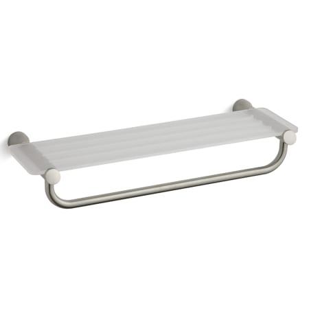 Kohler K-5677-BN Vibrant Brushed Nickel Toobi Hotelier Towel Shelf ...
