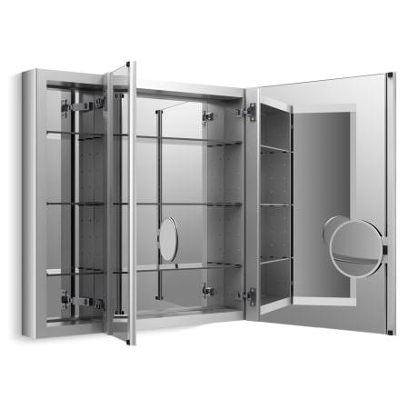 Kohler K 99011 Na N A 40 Quot X 30 Quot Triple Door Reversible Hinge Frameless Mirrored Medicine Cabinet