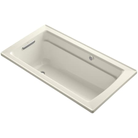 Kohler K 1122 G 96 Biscuit Archer Collection 60 Drop In Airpool Bath Tub With Reversible Drain