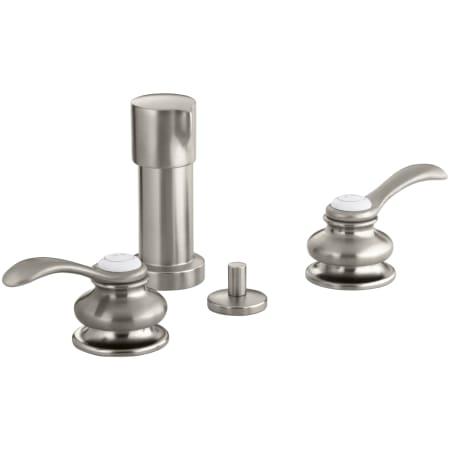 Kohler K 12286 4 Bn Brushed Nickel Fairfax Bidet Faucet With Double