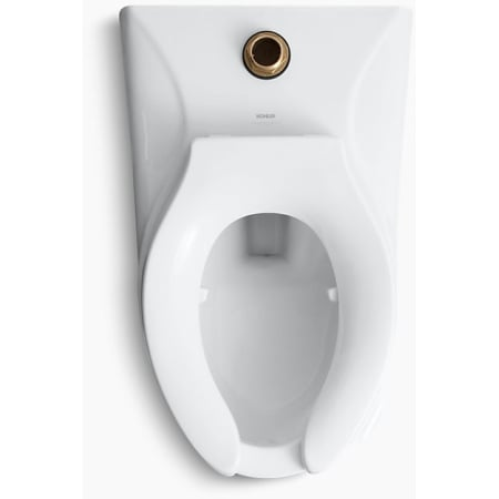 Kohler K 4325 L 0 White 1 28 Toilet Bowl With Top Spud And