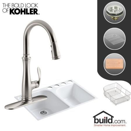 Kohler K 5931 4u K 560 Vs Vibrant Stainless Faucet