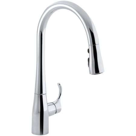 Kohler K 596 Cp Polished Chrome Simplice Single Hole Kitchen Sink