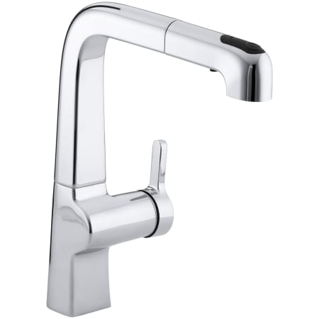 Kohler K 6331 Sn Polished Nickel Single Handle Pullout Spray Kitchen