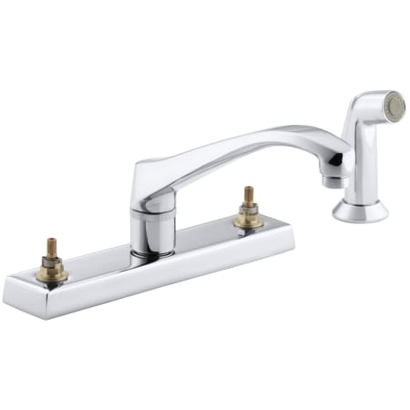 Kohler K 7827 K Cp Polished Chrome Triton Kitchen Faucet Less
