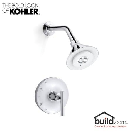 aeb0e6d9d55 Kohler K-9245 K-T14423-4-CP. Moxie Shower Trim Kit with Wireless Speaker ...