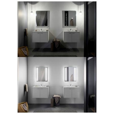 Kohler K 99003 Tlc Na N A Verdera 20 Quot X 30 Quot Lighted Single Door Medicine Cabinet With Two