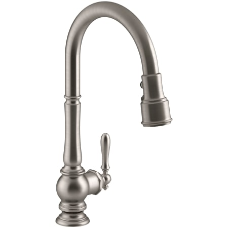 Faucet Pullout Spray High Arch Kitchen